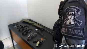 3°RPMon prende indivíduos com quatro armas de fogo em Passo Fundo - Rádio Studio 87.7 FM | Studio TV | Veranópolis