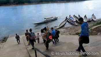Se incrementa el tráfico de menores migrantes centroamericanos por Frontera Corozal en Chiapas - Yahoo Noticias