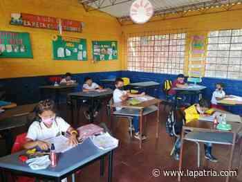 Colegios de Aguadas reclaman recursos para alternancia - La Patria.com