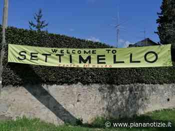 """""""Welcome to Settimello"""" lo striscione per dare il benvenuto - Piana Notizie - piananotizie.it"""