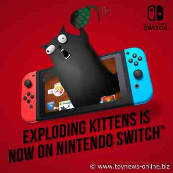 Exploding Kittens bursts onto Nintendo Switch and marks launch of new tabletop title A Little Wordy | ToyNews - Toy News