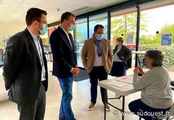 Élection Régionales : Florent Boudié en visite à Lacanau - Sud Ouest