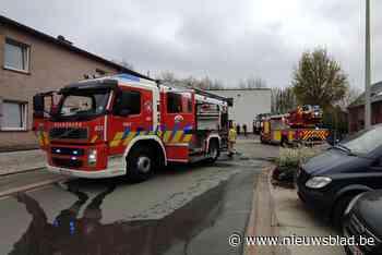 Brandje in appartementsgebouw in Neerpelt<BR />