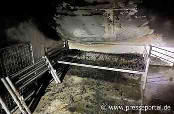 FW Kranenburg: Wohnungsbrand an der Tiggelstraße - Presseportal.de