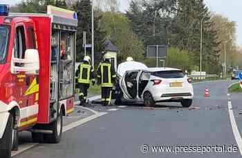 FW Kranenburg: Verkehrsunfall mit eingeklemmter Person - Presseportal.de