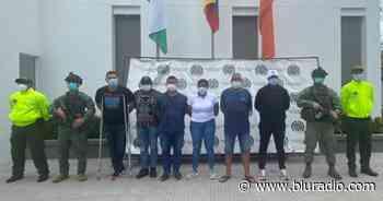 Capturan al inspector de Apartadó y dos policías por supuestos nexos con el narcotráfico en Urabá - Blu Radio