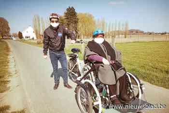 E.T. en Top Gun moeten rusthuisbewoners aan rolstoelfiets helpen - Het Nieuwsblad