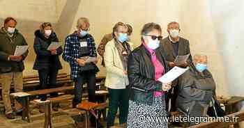 Le pardon de Saint-Marc, à Saint-Aignan, a été célébré en mode covid - Le Télégramme