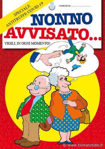 'Nonno avvisato': Arluno distribuisce l'opuscolo antitruffa - Ticino Notizie