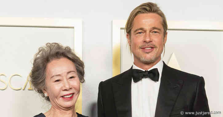 Here's How Oscar Winner Youn Yuh-jung Is Reacting to All Those Questions About Brad Pitt