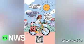 Borsbeek spoort inwoners aan om met de fiets vaccin te halen en bezorgt hen kaart met veilige route - VRT NWS