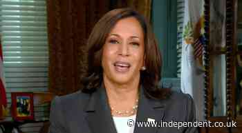 Kamala Harris says 'America not a racist country' in first interview after joint address