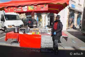 Saveurs guyanaises sur le marché d'Evron - actu.fr