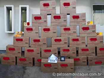 Campos Altos: Ação conjunta recupera 870 caixas de chocolates de carga - Patos em Destaque