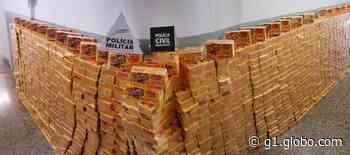 Mais de mil caixas de chocolates são recuperadas em Campos Altos após carreta ser saqueada em Ibiá; trio foi detido por receptação - G1