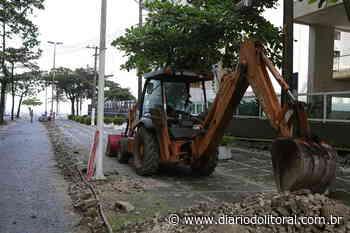 Guarujá inicia obras de reestruturação viária de acesso à Praia de Pitangueiras - Diário do Litoral