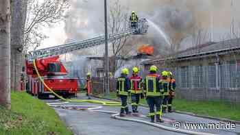 Bad Berka: Brand in Station der jungen Naturforscher - MDR