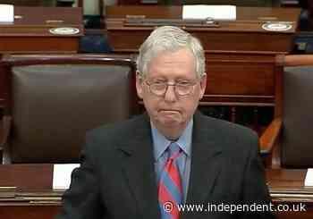 Mitch McConnell calls Biden speech 'lengthy liberal daydream'