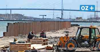 """""""Stralsund Wall"""": Das ist die neue Spundwand im Strandbad - Ostsee Zeitung"""