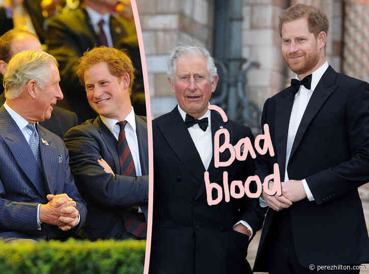 Prince Charles Is Still 'FUMING' Over The Oprah Interview -- But Prince Harry 'Hasn't Forgiven' Dad Either!