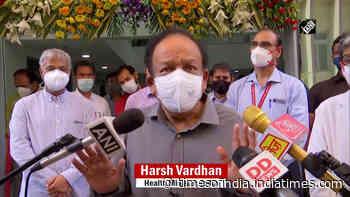 COVID crisis: Health Minister Harsh Vardhan briefs media on oxygen shortage