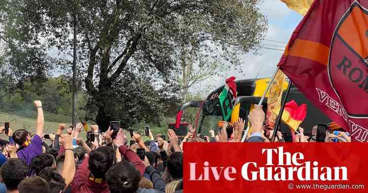 Manchester United v Roma: Europa League semi-final – live!