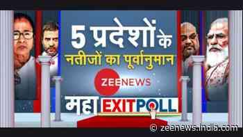 Zee News Maha Exit Poll: See who wins Bengal, Assam, Tamil Nadu, Kerala and Puducherry
