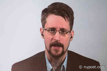 Edward Snowden calls out conference host for running Ponzi scheme - New York Post