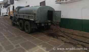 Barichara sin agua y el Gobierno no ha cumplido su compromiso de suministrar líquido - W Radio