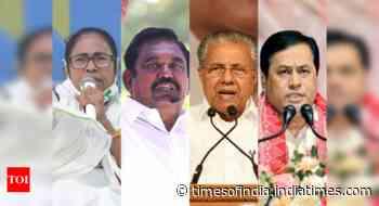 Close fight in Bengal, DMK back in TN; LDF to retain Kerala, BJP Assam: Exit polls
