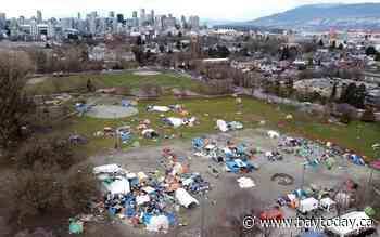 B.C. working to house people camping in Vancouver park as deadline to leave looms