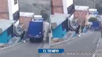 Video: camión pierde el control en pendiente de Ciudad Bolivar - El Tiempo