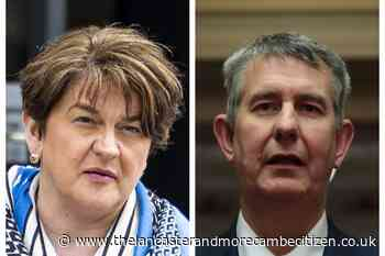 Potential DUP leadership contender pulls out of north-south meeting - Lancaster and Morecambe Citizen