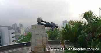 Intentaron derribar la estatua de Sebastián de Belalcázar ubicada en el oeste de Cali - Asuntos Legales
