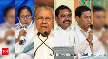 Exit polls see DMK, LDF wins in south, divided over Bengal