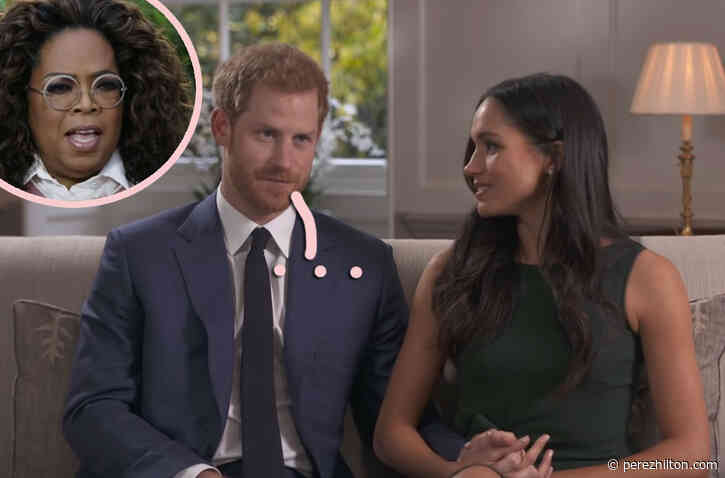 Prince Harry Is Reportedly 'Regretful' And 'Embarrassed' By That Infamous Oprah Winfrey Interview?!