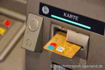Versuchter Diebstahl eines Geldautomaten in Sankt Ingbert - Blaulichtreport-Saarland