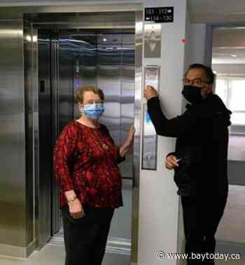 Senior's complex in West Nipissing gets a new elevator