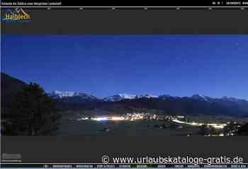 Allgäu -Neu: Panoramabilder bei Tag und Nacht | Halblech, Allgäu - Urlaubskataloge-gratis