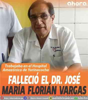 Falleció el Dr. José María Florián Vargas - DIARIO AHORA