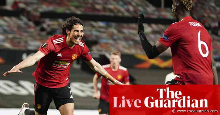 Manchester United 6-2 Roma: Europa League semi-final – live!