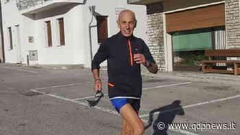"""Da Susegana con furore. """"Bepi"""" Cesca a 65 anni non smette di correre, anzi raddoppia: 170 km in 24 ore lungo il percorso della Caldella - Qdpnews"""