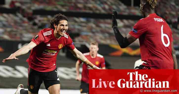 Manchester United 6-2 Roma: Europa League semi-final – as it happened