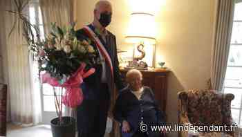 Latour-Bas-Elne : de belles fleurs pour l'anniversaire de Denise - L'Indépendant