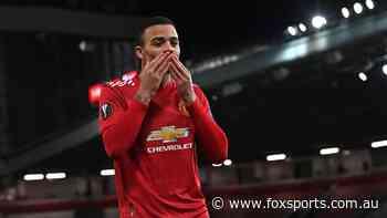 United blast SIX in crazy semi-final as 10-man Gunners stunned: Europa League wrap