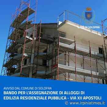 Solofra, bando assegnazione alloggi di edilizia residenziale pubblica - https://www.irpiniatimes.it