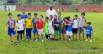 En Pijao se fomenta el fútbol entre niños y mujeres - La Cronica del Quindio