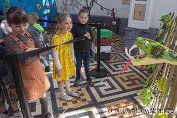 Leerlingen uit Gierle maken hun eigen dierentuin op school - Het Nieuwsblad