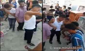 VIDEO: Habitantes de Turbaco armaron rumba en pleno cementerio y hasta se desnudaron   Minuto30.com - Minuto30.com