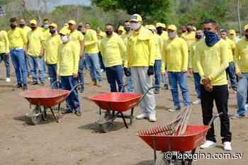 Privados de libertad realizan jornada de limpieza en Atiquizaya, Ahuachapán - Diario La Página